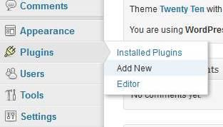 plugin > add new