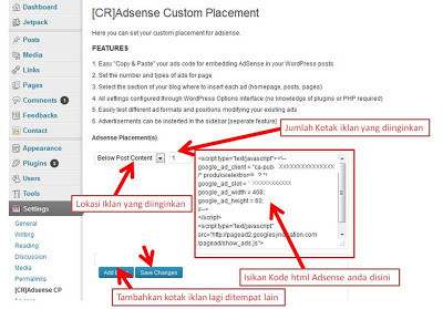 adsense placement plugins for wordpress