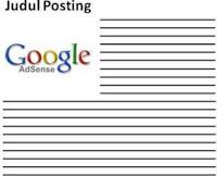 cara memasangkan google adsense ke dalam posting