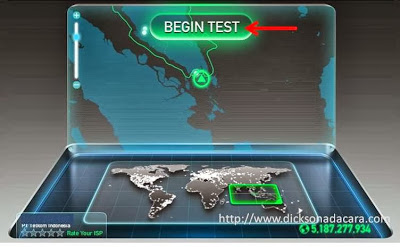 test kecepatan akses internet