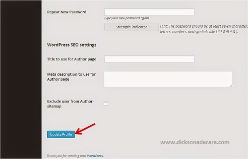 Cara Menggantikan Password Admin WordPress