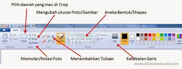 Cara Memperkecil Ukuran Foto dengan Microsoft Paint (Crop dan Edit Foto)