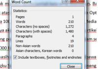 Cara Menghitung Jumlah Kata dan Kalimat dengan Ms. Word