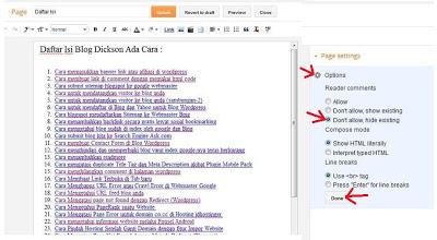 option di blogger
