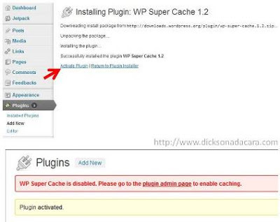 plugins wp super cache