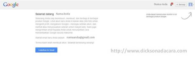 gmail siap didaftarkan