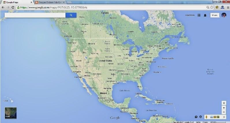 Langkah pertama Memasang dan Menampilkan Peta Google Map di Blogspot dan WordPress