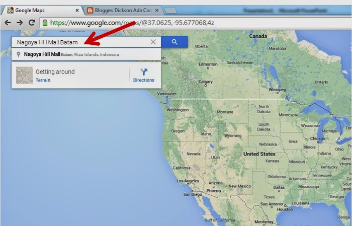Cara Memasang dan Menampilkan Peta Google Map di Website (Blogspot/Wordpress)